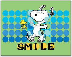 snoopy smile dots 4 up laser card smartpractice dental