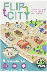 halloween city game amazon com flip city board game toys u0026 games