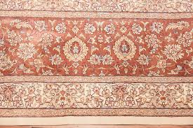 Fine Persian Rugs Fine Persian Qum Room Size Silk Rug 49401 By Nazmiyal Rugs