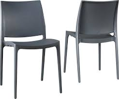 Black Patio Chairs Black Outdoor Dining Chairs Stacking Patio Chair Sets