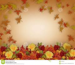 thanksgiving clip art border thanksgiving fall leaves and flowers border design royalty free