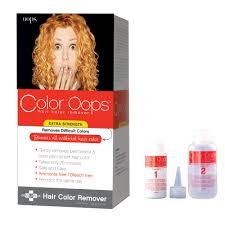 loreal hair color remover shampoo om hair