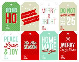 free holiday printable gift tags two peas u0026 their pod