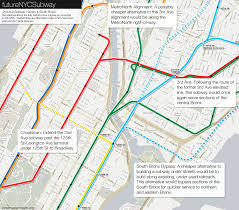 Harlem Map New York by The Futurenycsubway 2nd Ave Subway Future U2013 Vanshnookenraggen