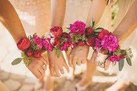 wrist corsages an alternative to bridesmaids bouquets wrist corsages brides