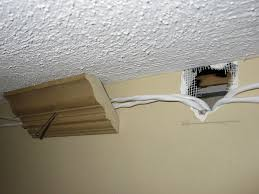 home theater wire concealment how to install speaker wire behind crown molding a concord carpenter
