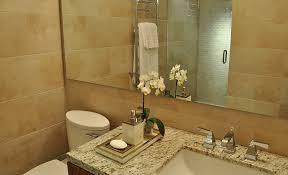 amarello ornamental granite bathroom contemporary with granite