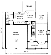 2nd Floor Plan Design Cottage House Plan With 3 Bedrooms And 2 5 Baths Plan 3684