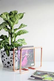 30 copper home accents to buy and diy diy copper magazine holder