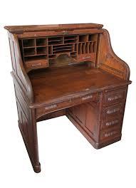 Small Oak Roll Top Desk Small Oak Roll Top Desk Wooden Nickel Antiques