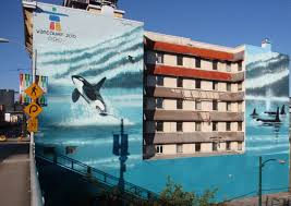 orca murals old continental hotel demolished but what will continental hotel orca mural