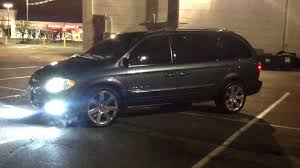 srt8 rims on a chrysler town and country pt2 youtube