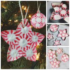 how to make peppermint ornaments pictures photos