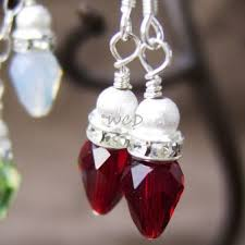 christmas earrings 355 best christmas jewelry images on christmas