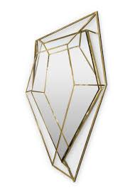stunningly polished wall mirrors for a unique home decor