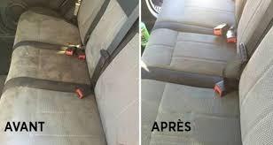 produit pour nettoyer les sieges de voiture une astuce maison très efficace pour enlever les taches les