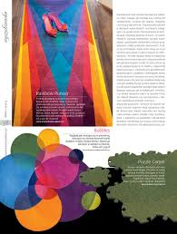 rainbow runner and bubbles rugs by sonya winner in srw u0026o poland