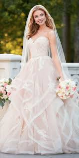 pink lace wedding dress best 25 pink wedding dresses ideas on princess gowns