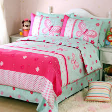 butterfly girls bedding fadfay home textile romantic pink butterfly girls princess bedding