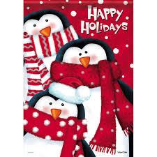 christmas penguins garden flags christmas wikii