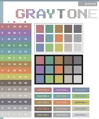 Colorcombinations Gray Tone Color Schemes Color Combinations Color Palettes For