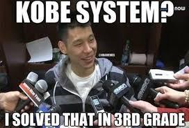Jeremy Lin Meme - nba memes on twitter jeremy lin s reaction to kobe bryant s ways