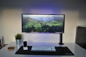 my minimalist ultrawide setup album on imgur