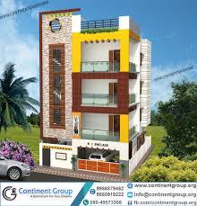 attractive 3d house walkthrough 5 3d front elevation ground plus