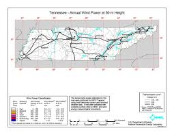 Map Of Cities In Tennessee by Wind Power In Tennessee Wikipedia