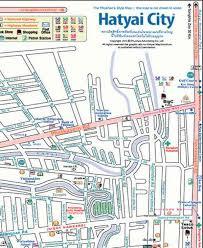 map of hat yai hat yai map holidaymapq