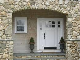 Transom Window Above Door Cottage Front Door With Transom Window U0026 Glass Panel Door In
