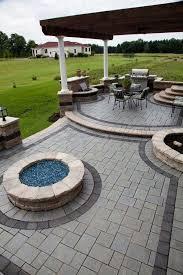 Best  Backyard Pavers Ideas On Pinterest Pavers Patio Back - Backyard paver designs