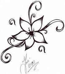 25 unique flower tattoo drawings ideas on pinterest tattoo
