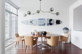 Interior Design Dining Room Utopus Transforms Apartment In A Selldorf Building