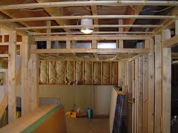 framing basement walls for insulation home decorations stud