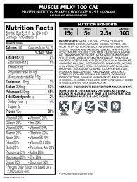 100 calorie muscle milk light vanilla crème muscle milk shop nutritional information shakeology vs and myoplex
