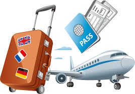 travel clipart images Air travel clip art vector foreign travel passport 993 698 png