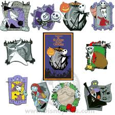 your wdw store disney mystery pin card nightmare before