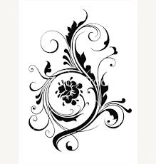 floral ornament for your design vector 16058 by devor on