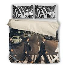 The Beatles Bed Set The Beatles Road Duvet Cover Set Novelty Trends