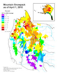 2000 Election Map Mountain Snowpack Map Western Us