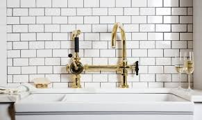 Kitchen Outstanding Kitchen Faucets For by Outstanding Unlacquered Brass Kitchen Faucet Verambelles