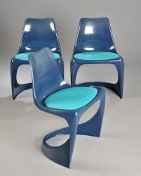 Molded Plastic Outdoor Chairs by Steen østergaard 290 Molded Plastic Chairs For Poul Cadovius