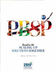 pbsp annual report 2016 by marilyn mirando issuu
