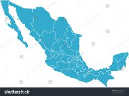 Colima Mexico Map by There Map Mexico Country Stock Vector 55526572 Shutterstock