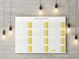 daily planner template pdf daily planner 2018 yearly wall planner agenda template daily planner 2018 tearly wall planner