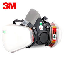 Masker Uap 3 m 6200 6009 reusable setengah wajah masker respirator masker uap