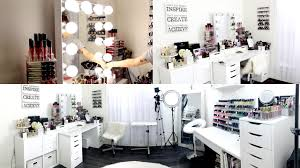 makeup room u0026 filming set up exciting news youtube