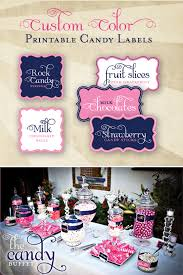 hwtm free printable labels and look at that candy display take