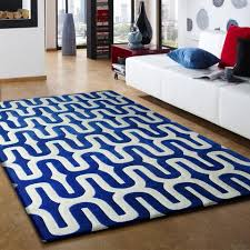 Blue And White Area Rugs All Contemporary Rug Addiction